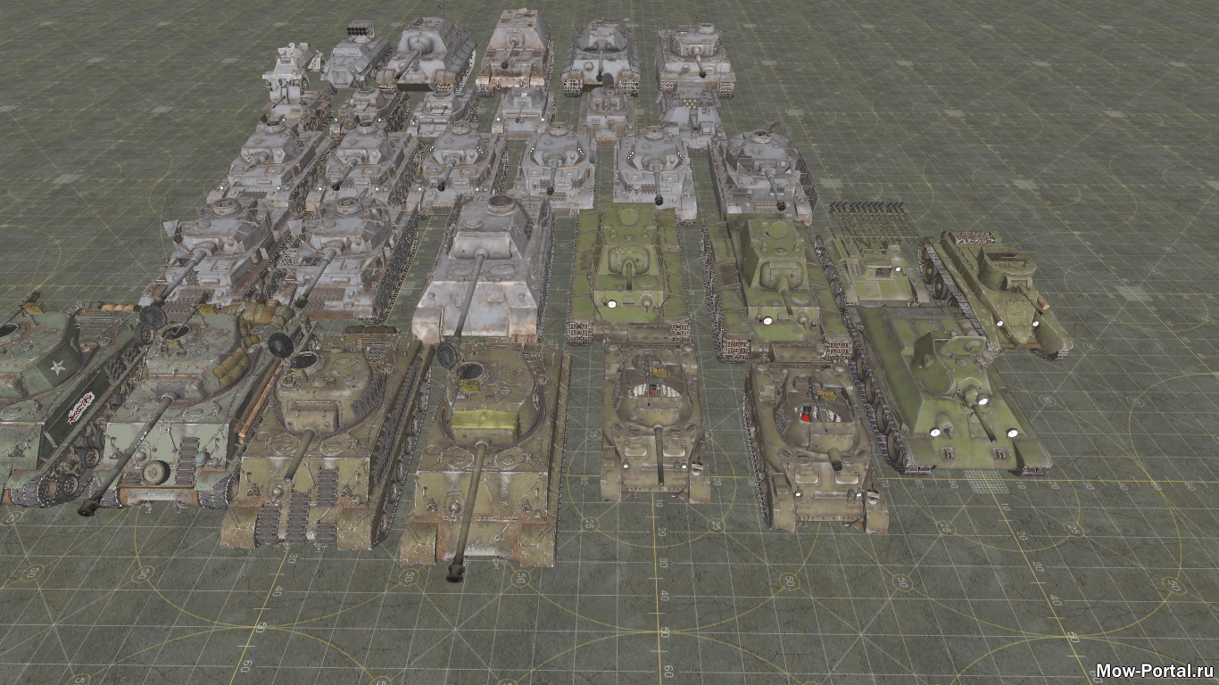 Скачать файл WT Vehicle Pack by U929 (AS2 — 3.262.0) (v17.03.2020)