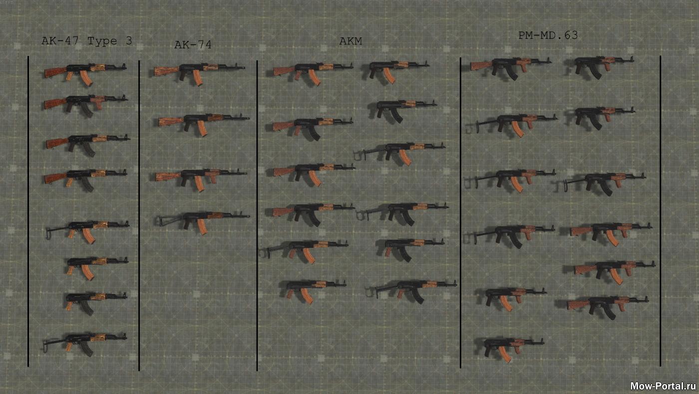 Скачать Ruemc's AK Pack (AS2 — 3.262.0) (v15.03.2020) — бесплатно