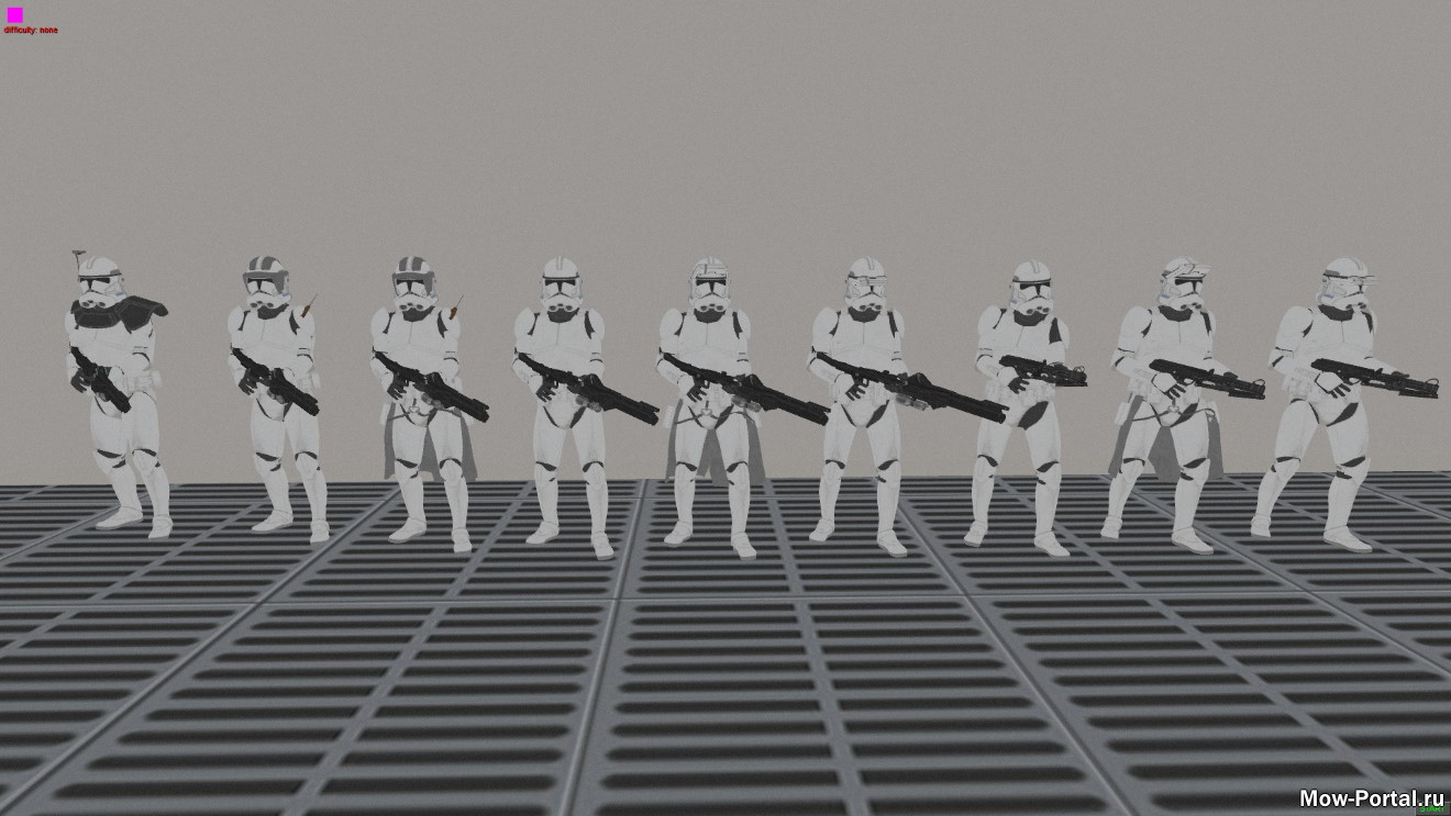 New Clone Models for Galaxy at War Mod (AS2 — 3.262.0) (v10.05.2020)