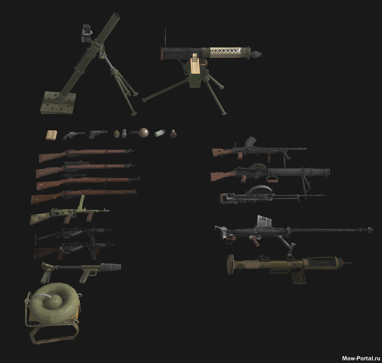 Ultimate WW2 Weapons Pack 1.0 (AS2 — 3.262.0) (v30.06.2020)