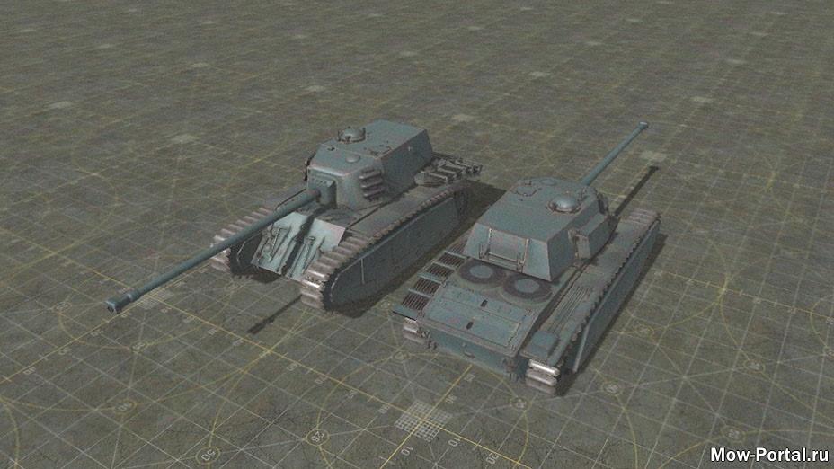 WW2 French Tanks (AS2 — 3.262.0) (v14.06.2021)