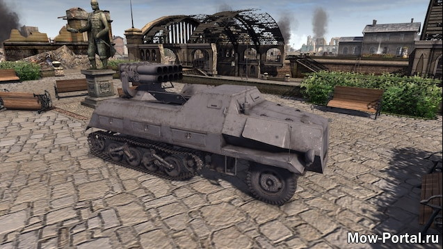 WT Armored Vehicle Full Package (AS2 — 3.262.0) (v07.07.2020)