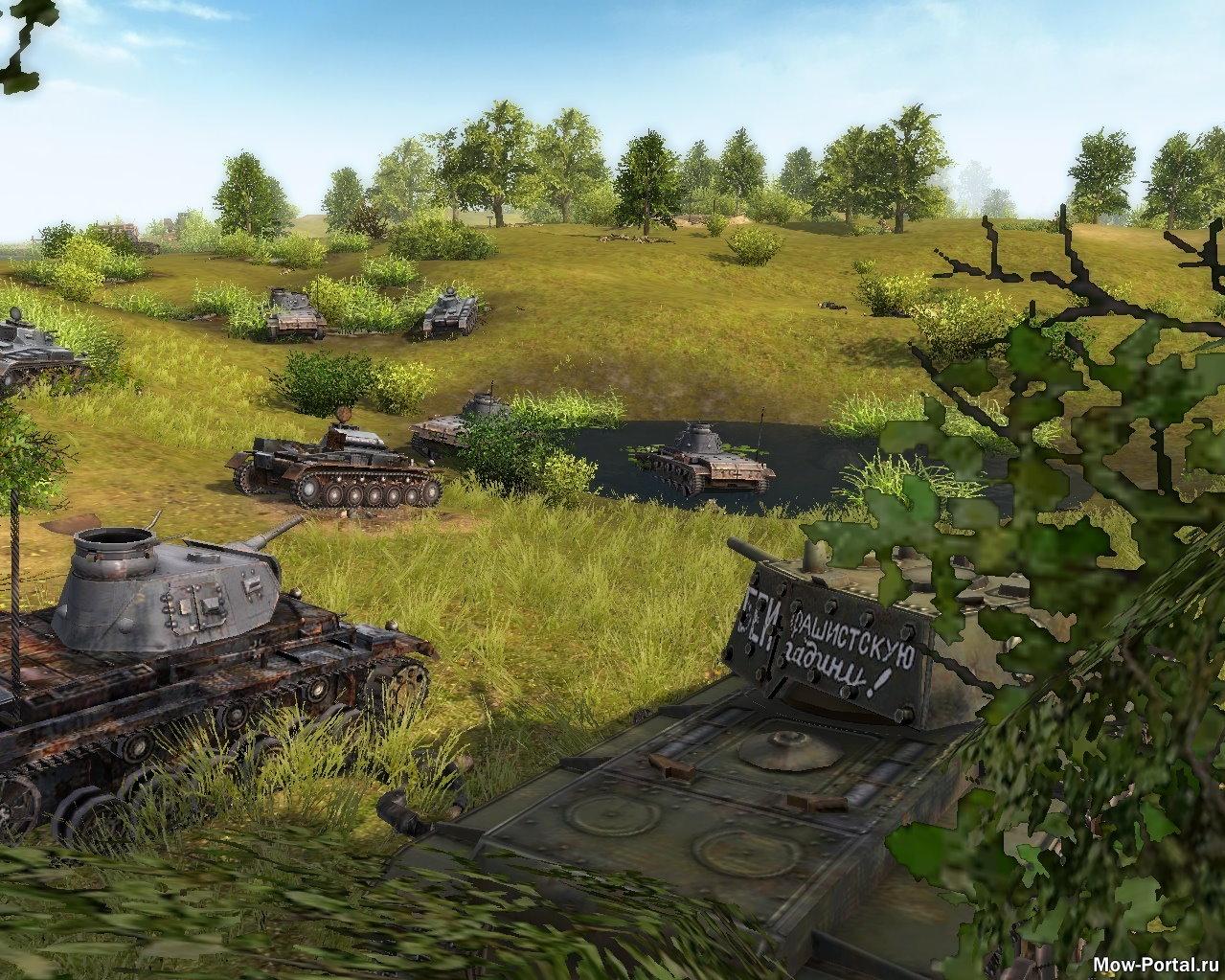 Скачать файл Мод Western front victory tankers/Западный фронт танкисты победы