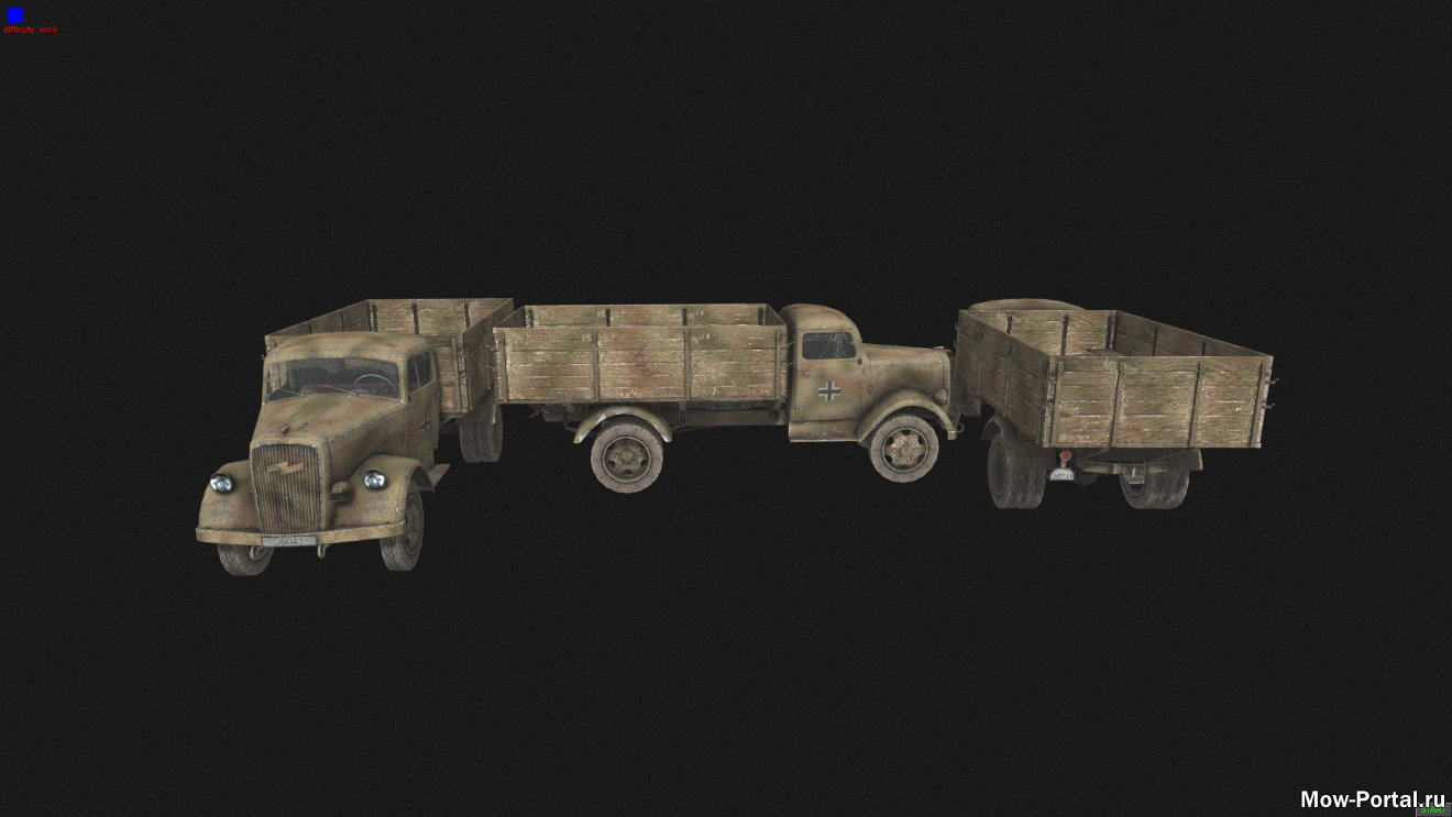 Call of Duty World at War Vehicels (AS2 — 3.262.0) (v24.07.2020)