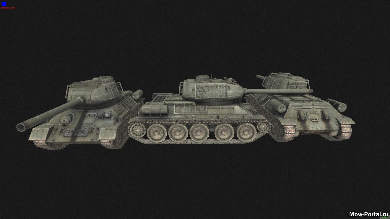 Скачать файл Call of Duty World at War Vehicels (AS2 — 3.262.0) (v24.07.2020)