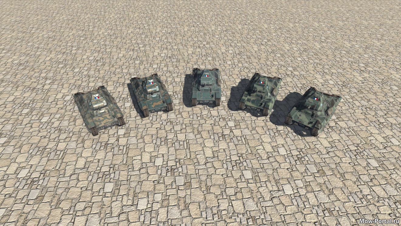 JEP Vehicules FCM 36 Tank (AS2 — 3.262.0) (v17.08.2020)