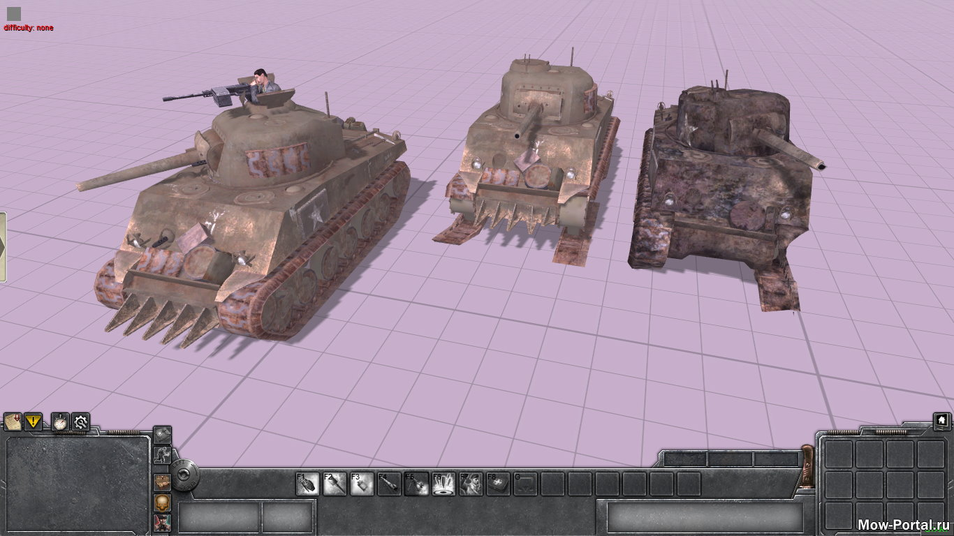 Скачать файл M4a2 Sherman из Call of Duty 2 (AS2 — 3.262.0) (v22.08.2020)