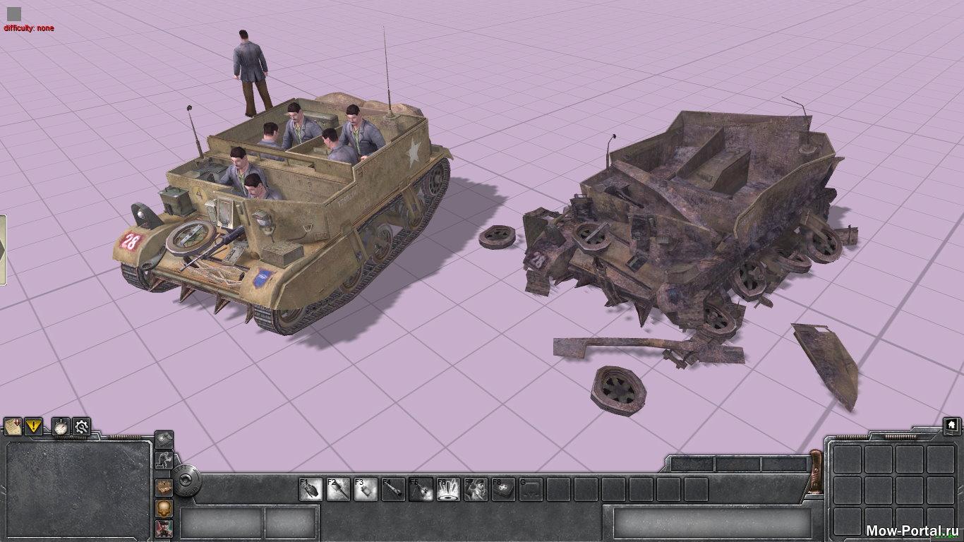 Скачать файл Universal Carrier из Call of Duty 2 (AS2 — 3.262.0) (v22.08.2020)