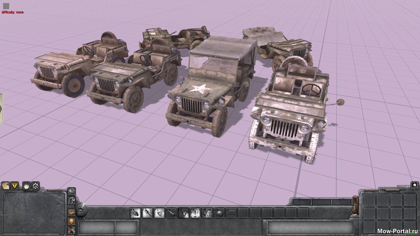 Скачать файл Jeep Willys MB из Call of Duty 2 (AS2 — 3.262.0) (v22.08.2020)