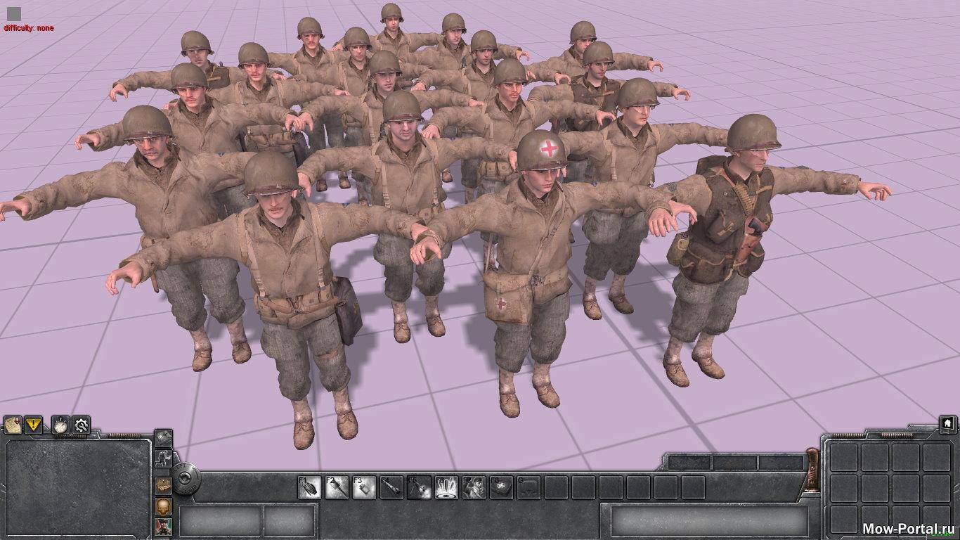 Скачать файл Рейнджеры США из Call of Duty 2 (AS2 — 3.262.0) (v21.08.2020)