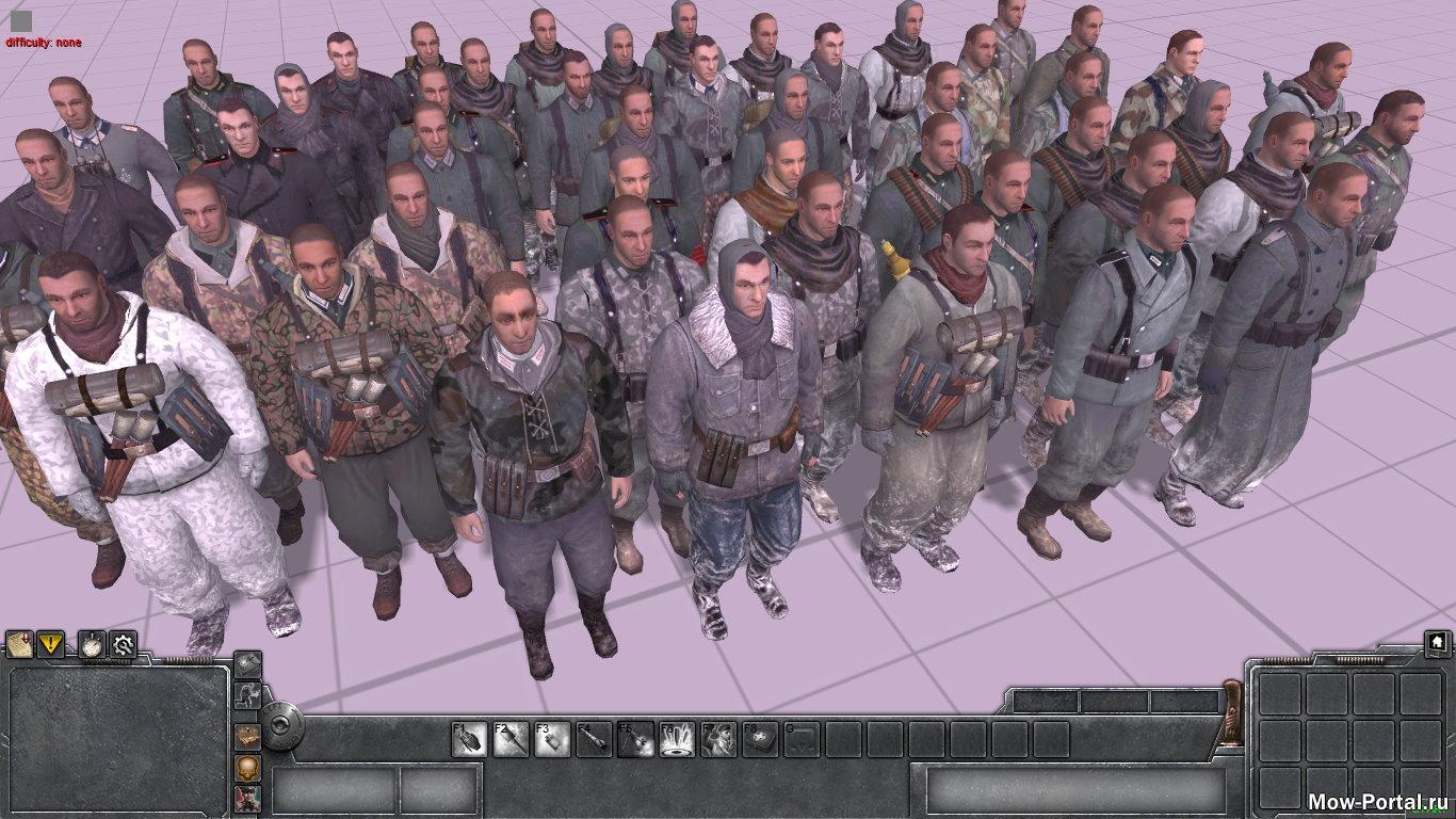 Скачать файл Немного скинов из Company of Heroes 2 (AS2 — 3.262.0) (v21.08.2020)