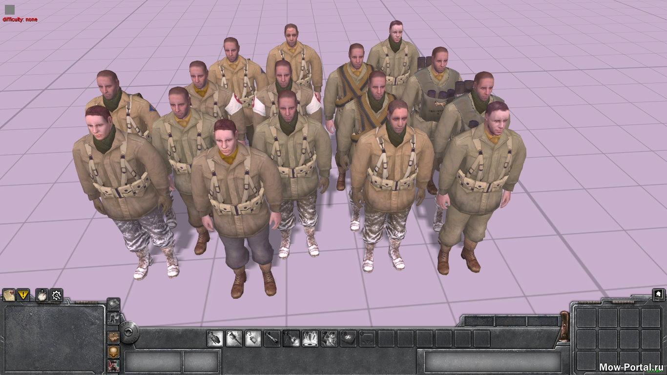 Немного скинов из Company of Heroes 2 (AS2 — 3.262.0) (v21.08.2020)