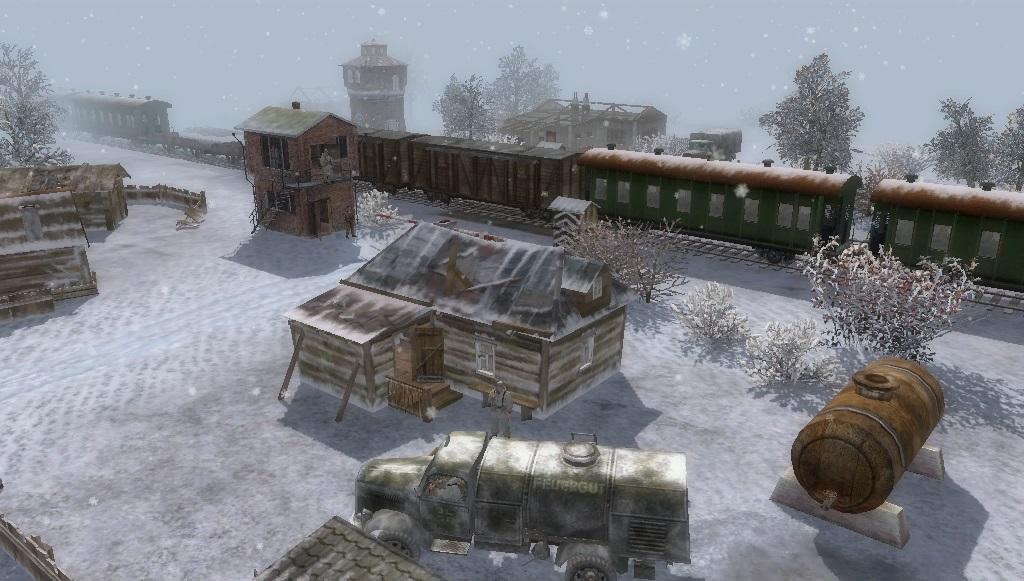 """Скачать Сингл-миссия """"Снег и Кровь""""."""