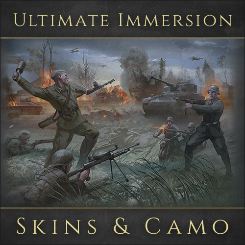 Скачать файл Ultimate Immersion Skins & Camo - For Multiplayer (AS2 — 3.262.0) (v05.12.2020)