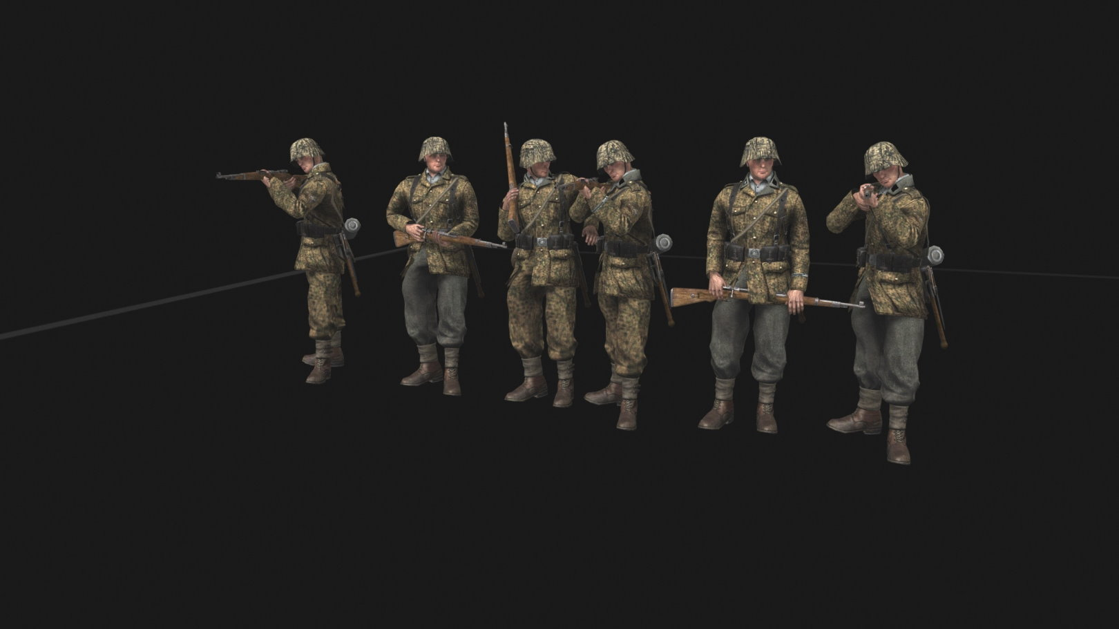 Waffen SS Faction (CtA: GoH — 1.003.0, 1.004.0) (v26.06.2021)
