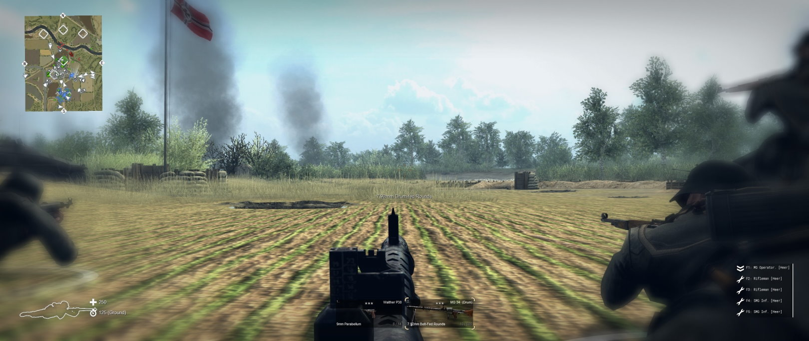 1st Person infantry View 1st Person Aim / Вид от первого лица (CtA: GoH — 1.011.0) (v22.08.2021)