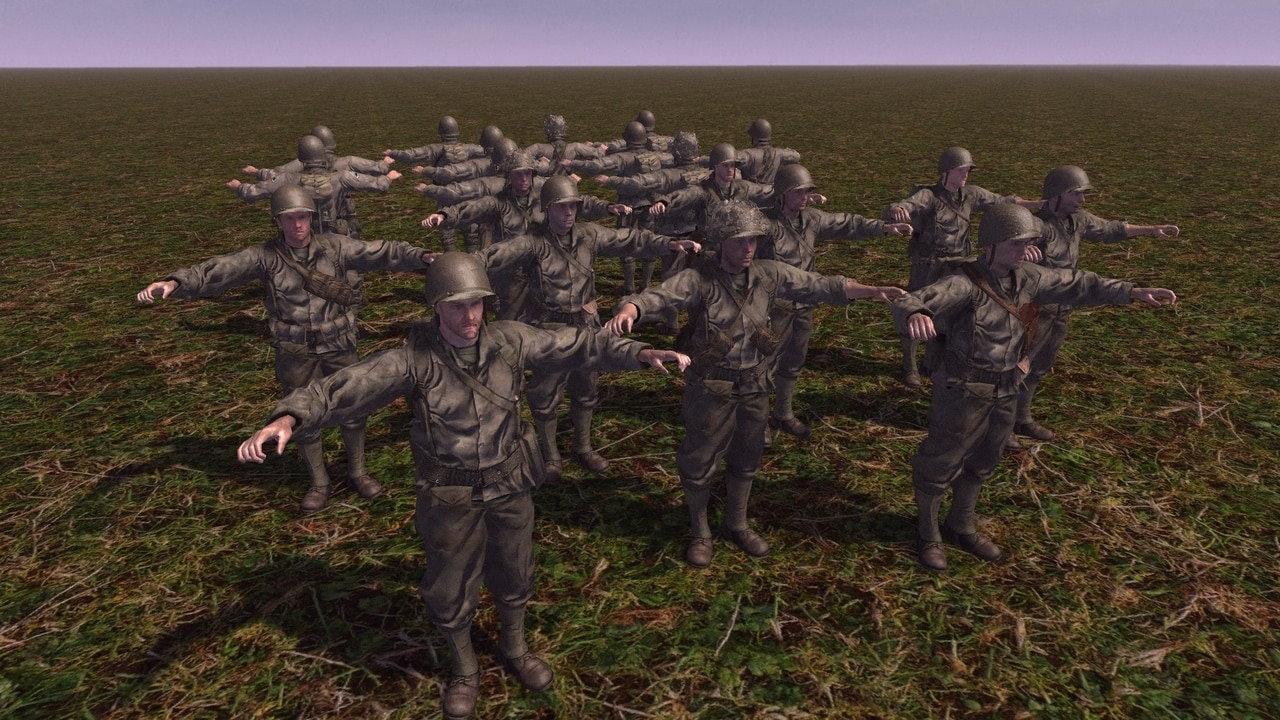 US Army by SturmFuhrer-PK (CtA: GoH — 1.011.0) (v06.08.2021)