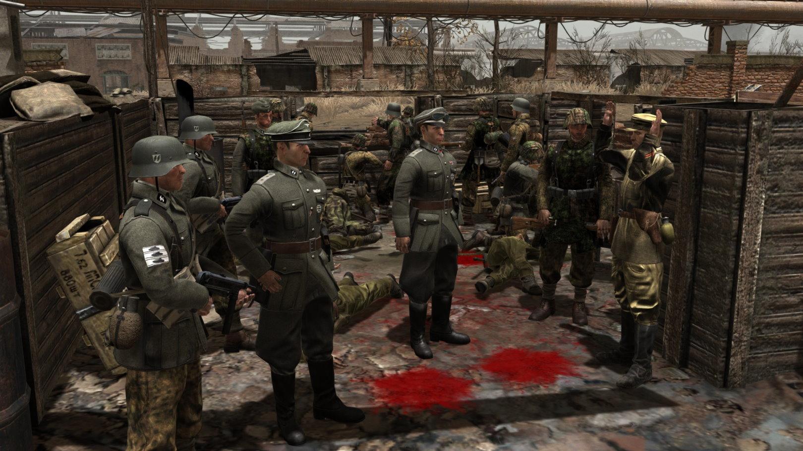 Waffen SS Faction - More Heer Units (CtA: GoH — 1.011.0) (v11.09.2021)