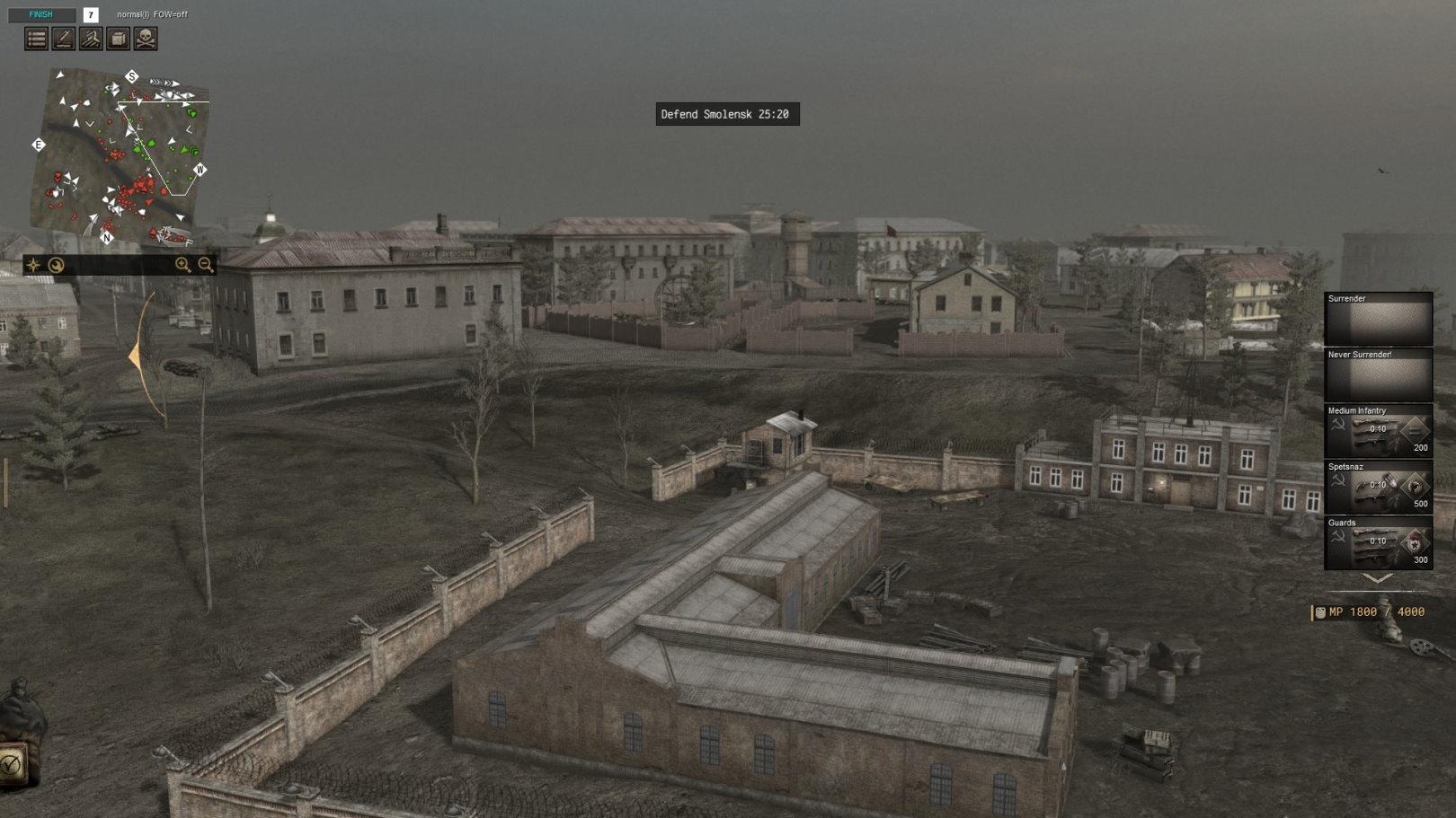 Smolensk Defense (CtA: GoH — 1.011.0) (v11.09.2021)